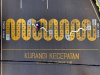 Ridwan Kamil Desain Ulang Zebra Cross Di Kota Bandung Untuk Melawan Pemotor Yang Sering Langgar Aturan Lalin