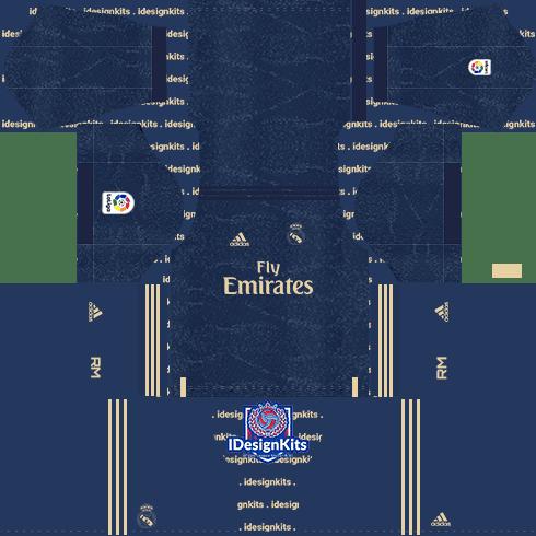 Real Madrid 2019/2020 Kits - Dream League Soccer Kits