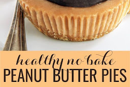No Bake Peanut Butter Pies