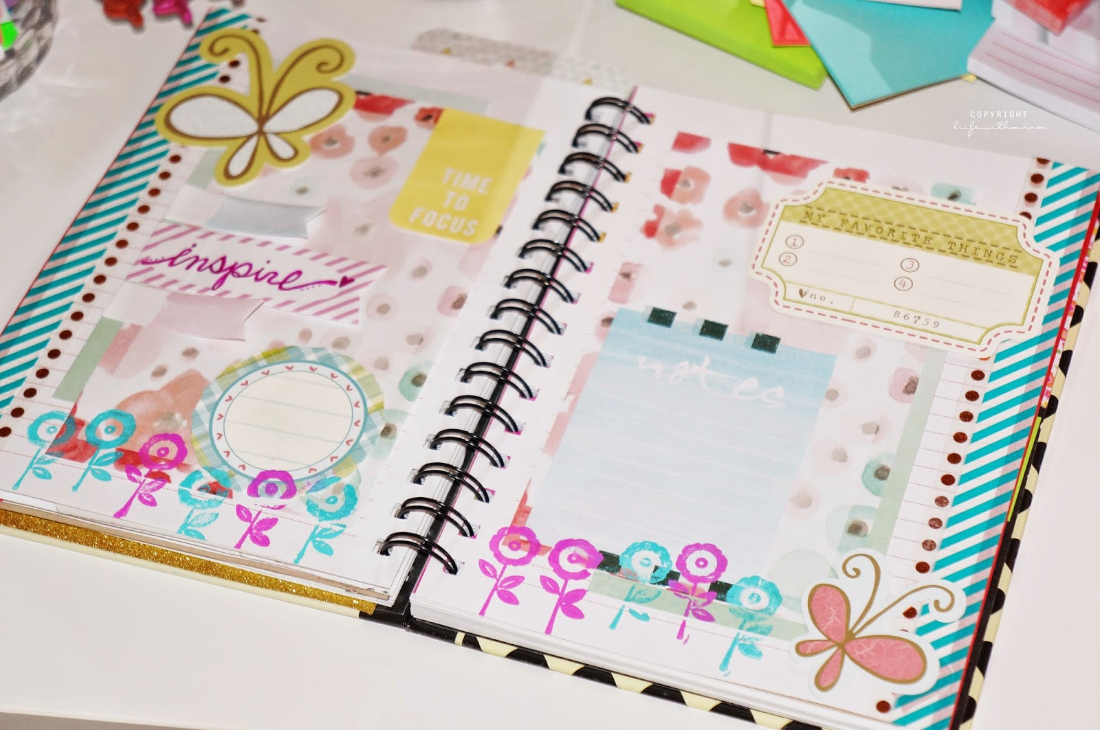 liifewithanna decorating your planner notebook diy planner ideas