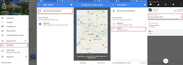 Cum descarci hărți din Google Maps pentru a le putea folosi offline pe Android