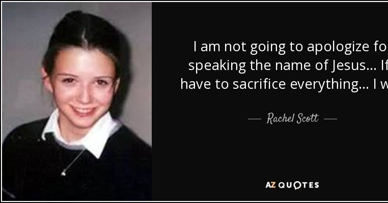 """rachel scott compassion essay Rachel joy scott is a one-of-a-kind hero that touched millions of hearts through   rachel's essay, """"my ethics, my codes of life,"""" contain one the most  rachel  talks about compassion and by utilizing this tool, it results to acts."""