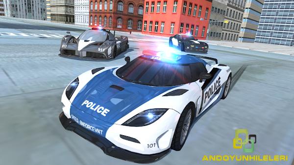 Police Car Simulator - Cop Chase v1.0.0 Para Hileli Apk