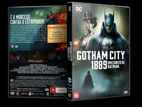 Capa DVD Gotham City 1889: Um Conto de Batman [Custom]