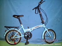 Sepeda Lipat Genio Cardiff 16 Inci