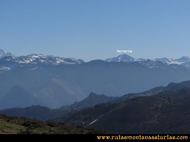 Ruta Linares, La Loral, Buey Muerto, Cuevallagar: Desde La Loral, el Ferreirúa