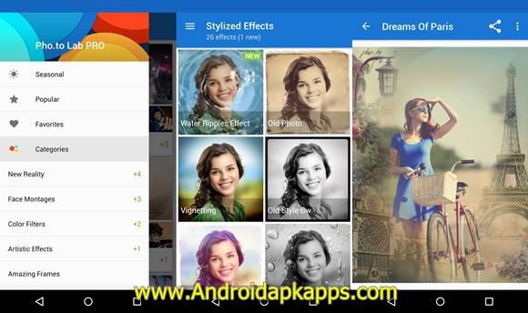 Photo Lab PRO Photo Editor! Apk v2.0.333 Android Latest Version Gratis 2016 Free Download