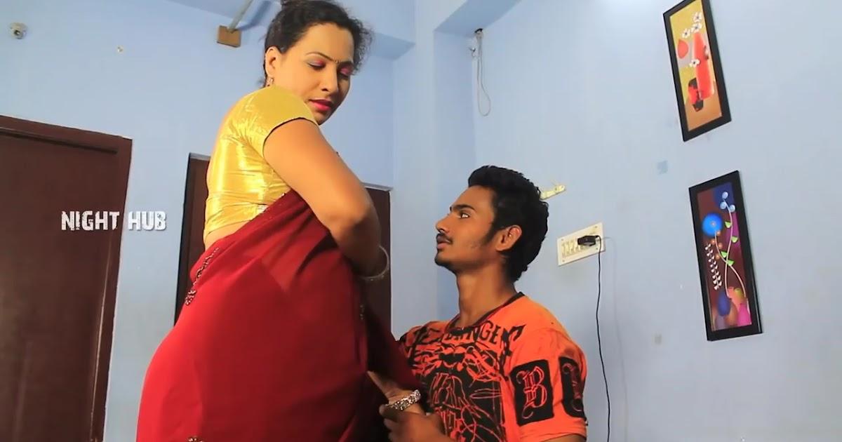 Mallu Rajini Aunty Romance With Young Boy-5895
