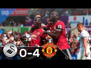 SWANSEA-MANCHESTER UNITED 0-4, POGBA AND MAN UNITED UNFOLD (AGAIN)