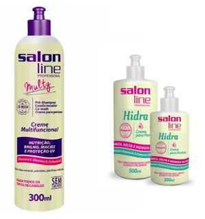 Creme Multy e creme Hydra Salon Line