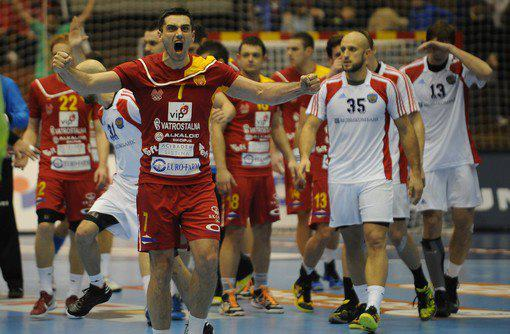 Handball: Macedonia ties Russia in last moments...