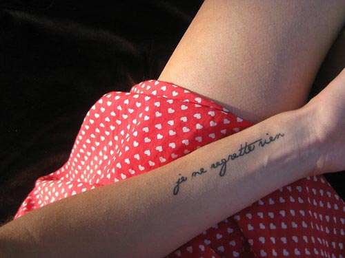 Cute Quotes For Tattoos Girly: Afrenchieforyourthoughts: Cute Girly Tattoo Designs With Ideas