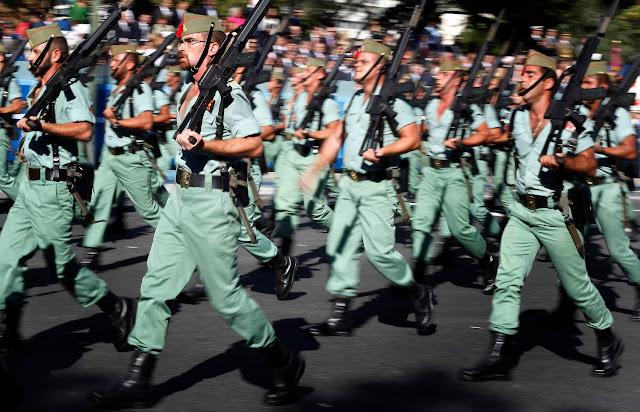 La Legión despliega 300 efectivos en Alemania para preparar la Fuerza de Alta Disponibilidad OTAN 2017
