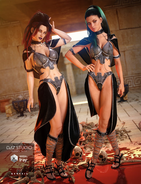 Sunward Bliss Outfit for Genesis 3 Female