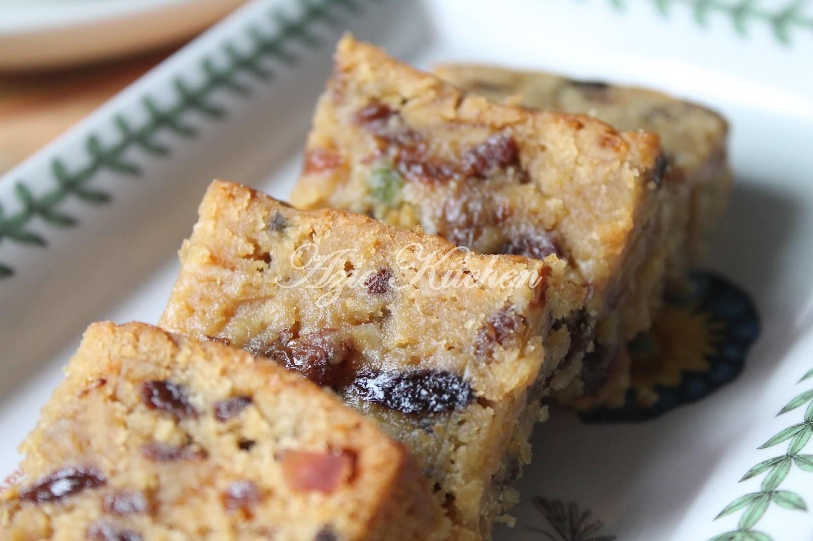kek buah buahan campuran kak leen azie kitchen Resepi Kek Cawan Azie Kitchen Enak dan Mudah