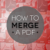 Merging PDF and Image Files Online : MergePDF.Online