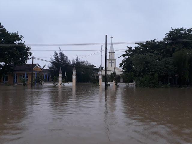 Chùm ảnh lũ lụt tại Giáo xứ Dương Sơn – Huế - Ảnh minh hoạ 3