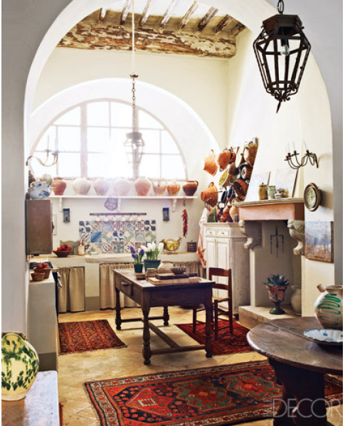 Italian Rustic Kitchen Decor