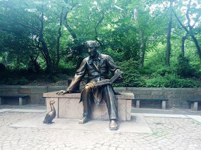 Hans Christian Andersen, Central Park