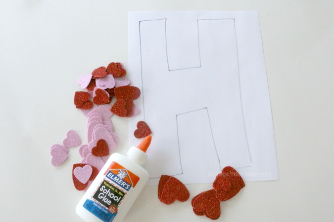 H is for Hearts Craft