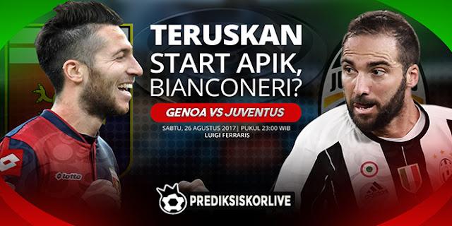 PREDIKSI Genoa vs Juventus: Lanjutkan Start Apik, Bianconeri?