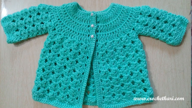 crochetkari newborn coat