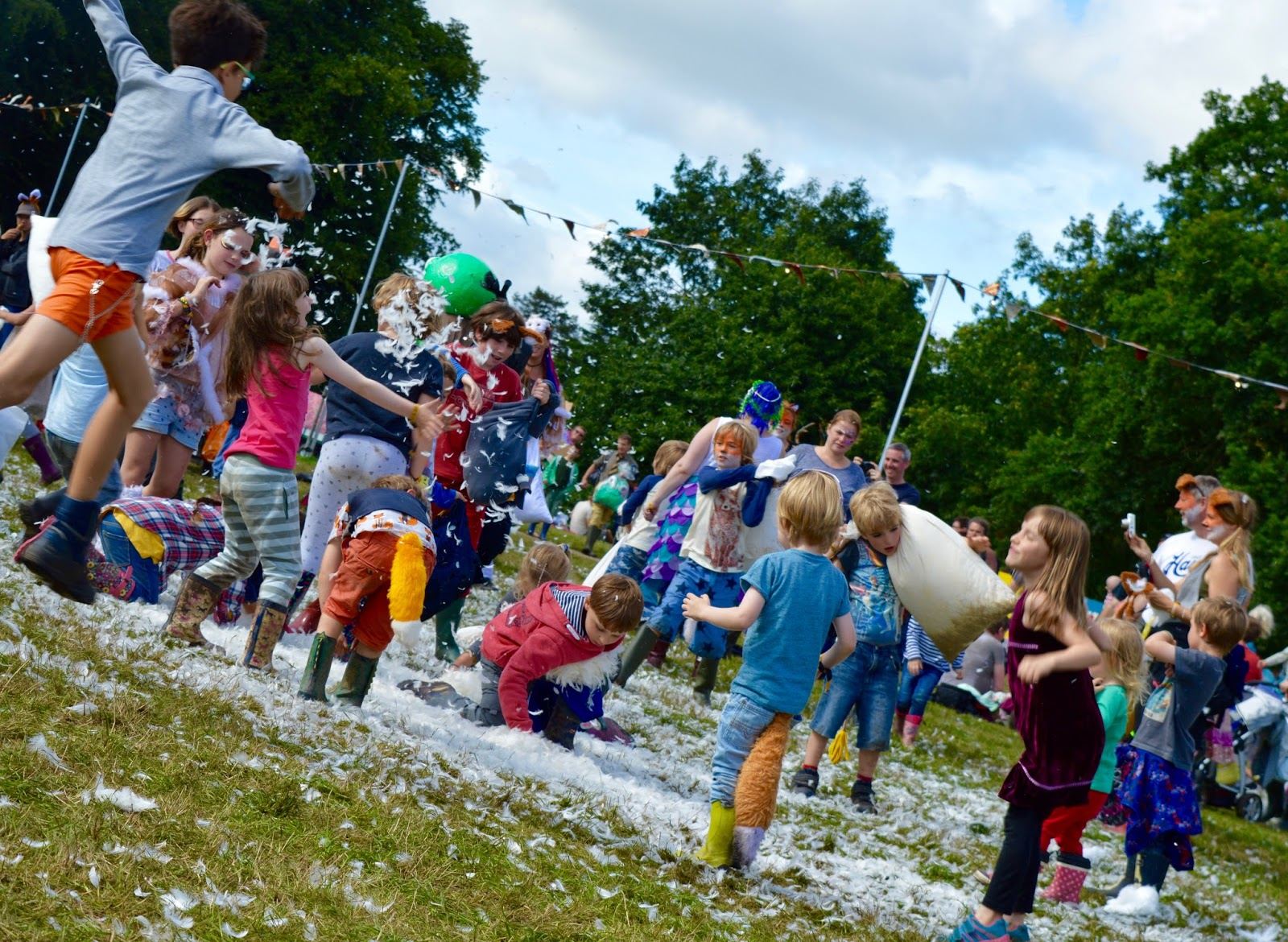 10 of the best family festivals within a 3 hour drive of Newcastle  - Just So Festival Pillow Fight