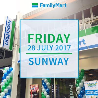 FamilyMart Malaysia Sunway University Opening Promo