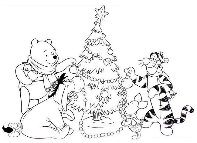 Sonhando Com Cores Natal Ursinho Pooh E Sua Turma Disney