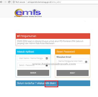 Cara Daftar EMIS Maddin, TPQ dan Ponpes yang Benar