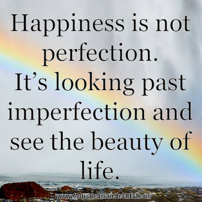 "Motivational Pictures Quotes, Facebook Page, MotivateAmazeBeGREAT, Inspirational Quotes, Motivation, Quotations, Inspiring Pictures, Success, Quotes About Life, Life Hack:  ""Happiness is not perfection. It's looking past imperfection and see the beauty of life."""