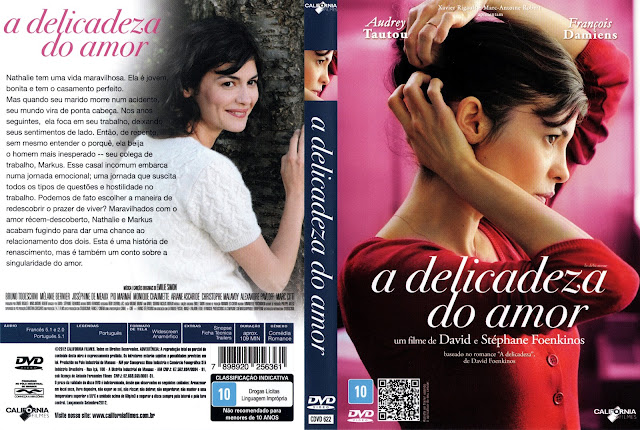 Capa DVD A Delicadeza do Amor