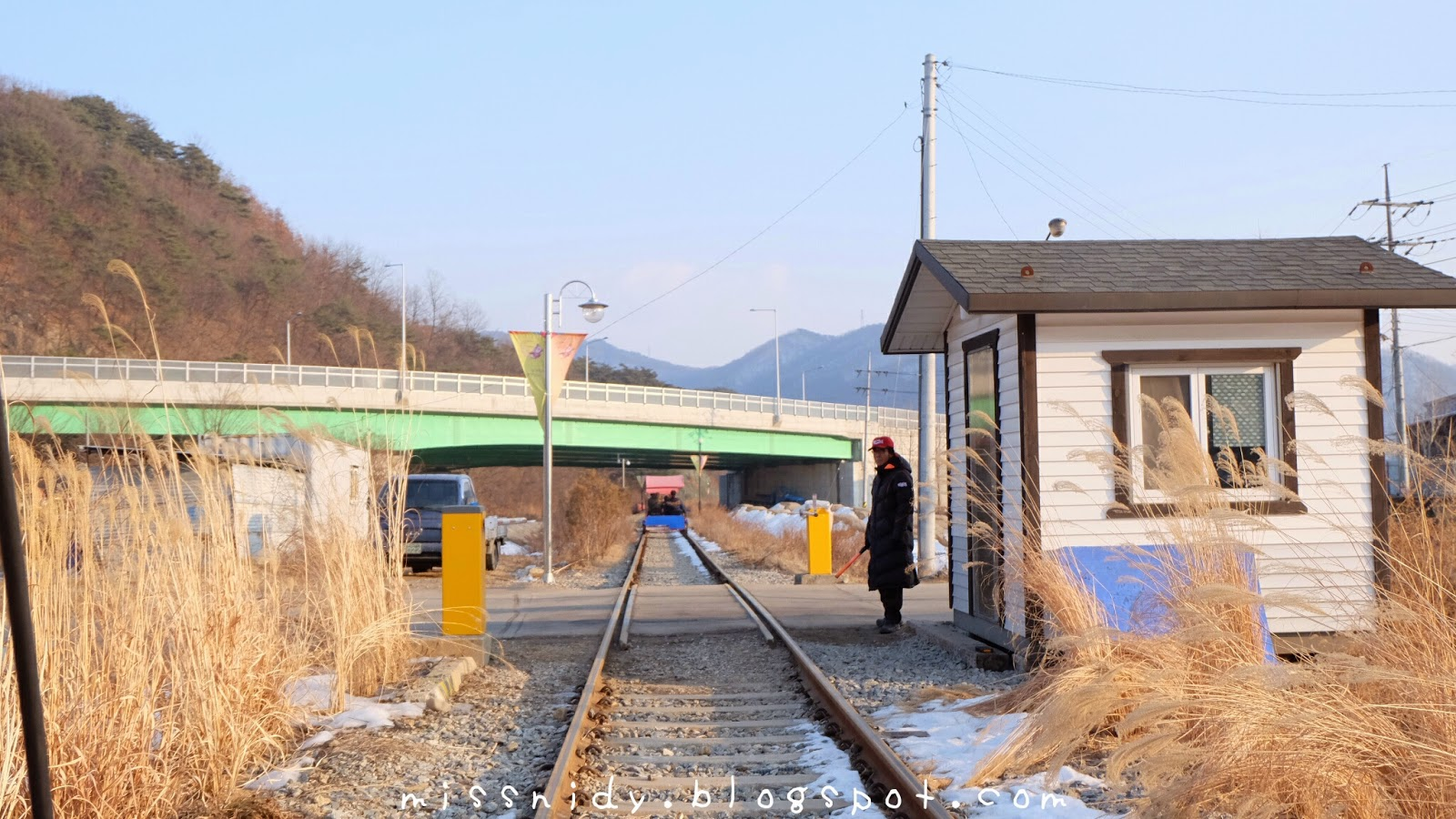 gangchon railpark in winter
