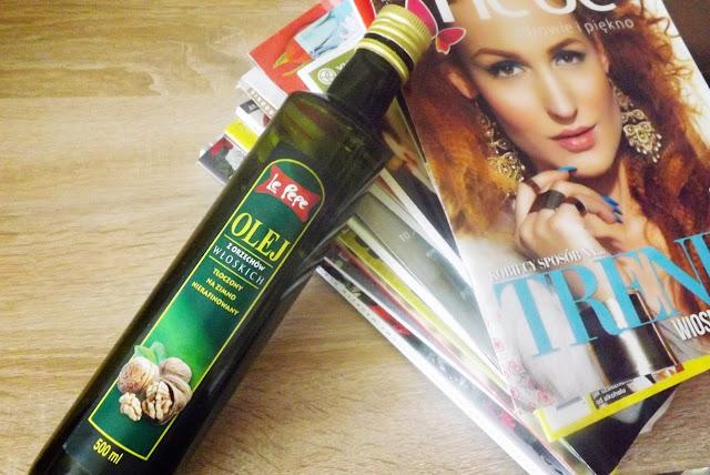 olej z orzechów włoskich zastosowanie