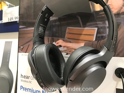 Costco 1130100 - Sony h.ear on 2 Noise Canceling Wireless Headphones WH-H900N: comfortable for your hearing pleasure