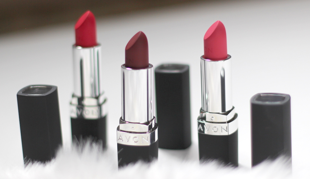 new avon matte lipsticks