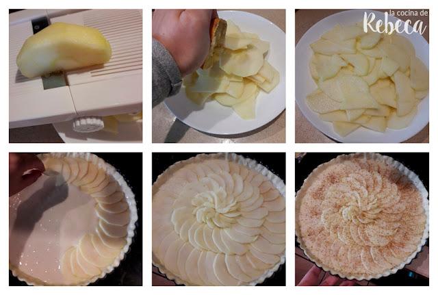 Receta de tarta de manzana 03