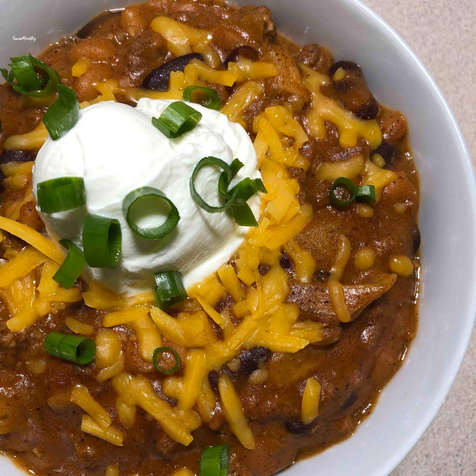 Hawaii Mom Blog Easy Chili Recipe