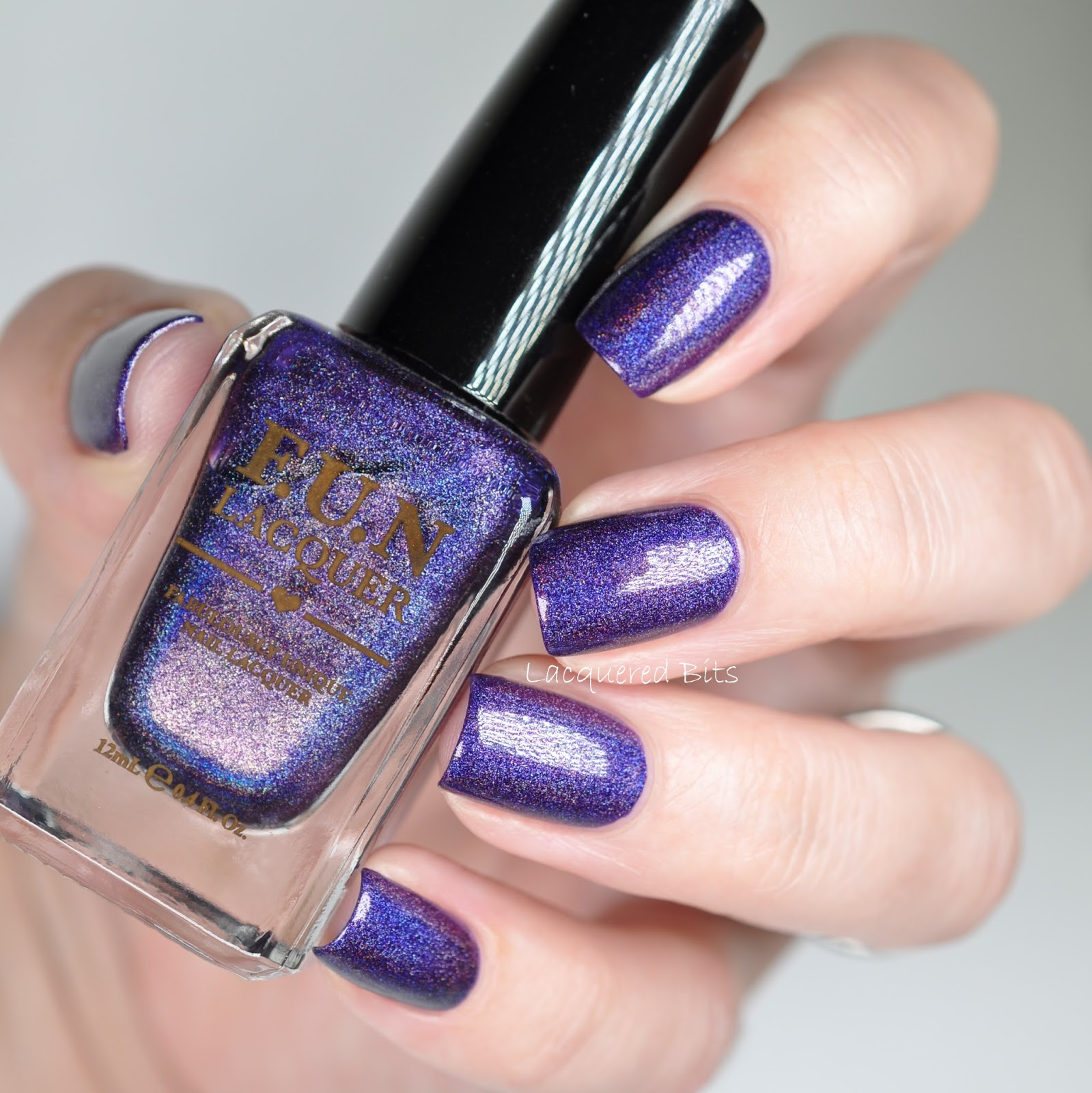 F.U.N Lacquer - Evening Gown - Swatches & Review & Nail Art ...