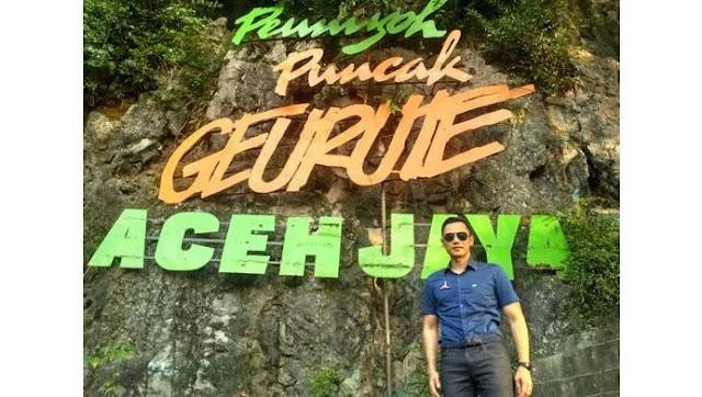 AHY Takjub dengan Potret Wisata Gunung Geurute