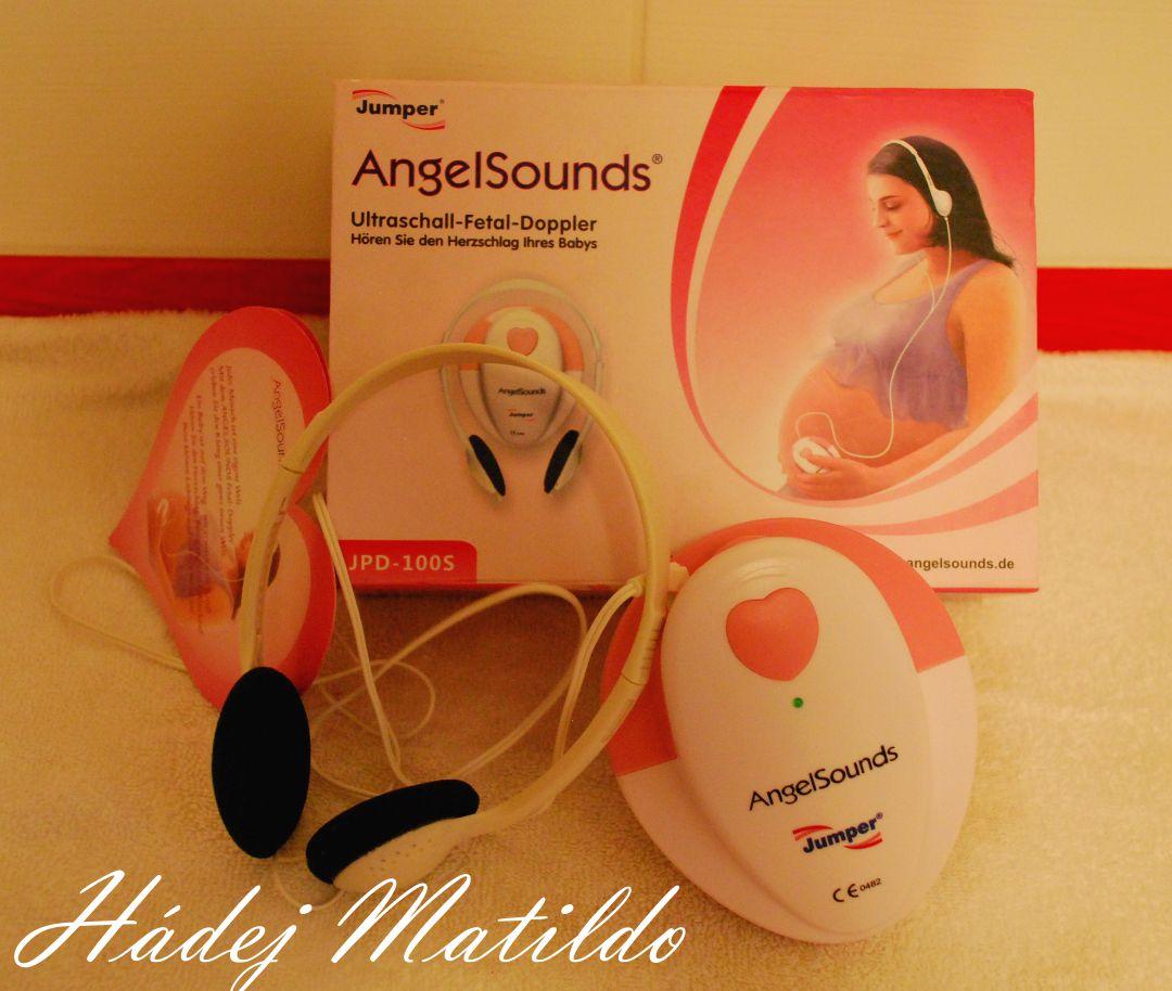 první pohyby, devatenáctý týden, angel sounds