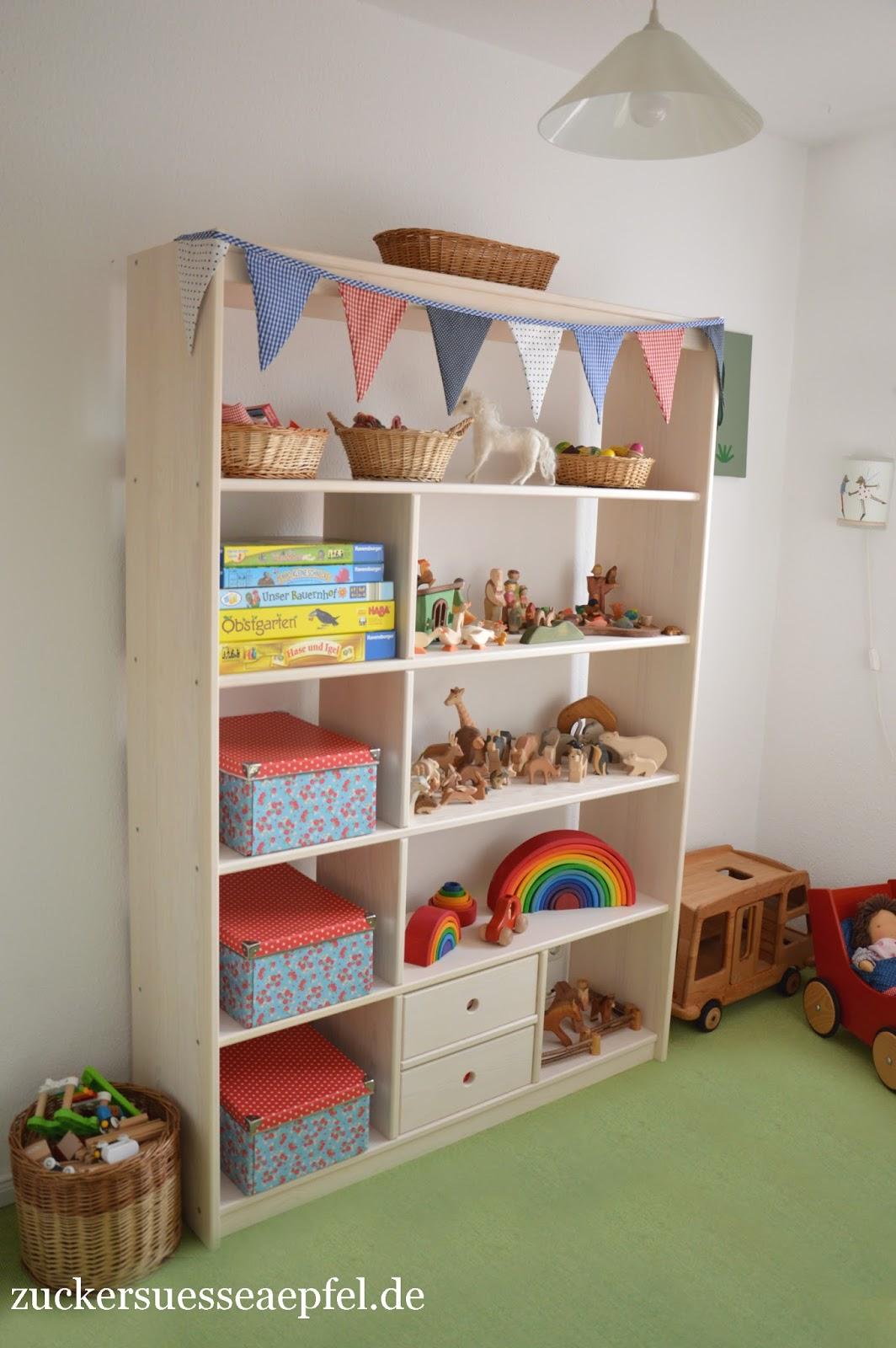 Endlich mehr ordnung im kinderzimmer zuckers e pfel kreativer familienblog - Ordnung kinderzimmer ...