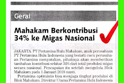 Mahakam Contributes 34% to National Oil and Gas
