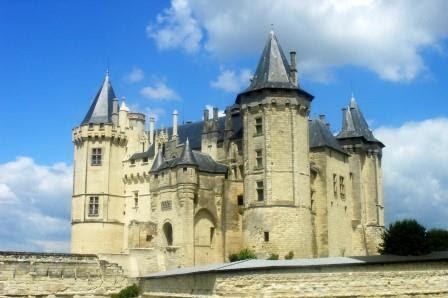 Chateau de Saumur in the Loire Valley