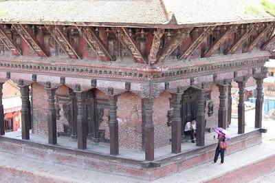 Wood Art in Bhaktapur nepal