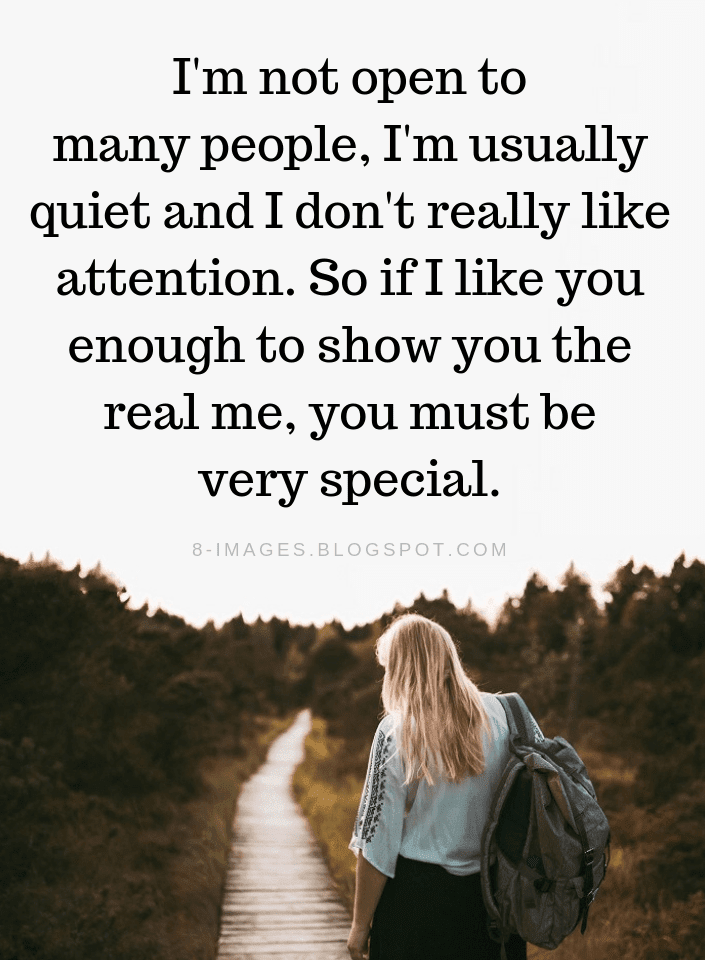 I Am Not Anti Social Quotes, I Don't Like Attention Quotes, I Am Usually Quiet Quotes,