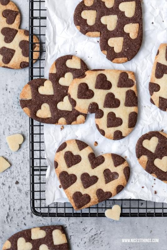 Herz Kekse Rezept für Valentinstag