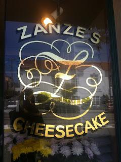 San Francisco - 用釣魚線切的Zanze's Cheesecake