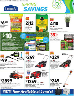 ⭐ Lowes Ad 4/2/20 ⭐ Lowes Weekly Ad April 2 2020