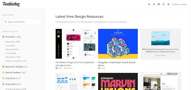 Freebiesbug - Tools Desain untuk UX/UI Designers (Part I)